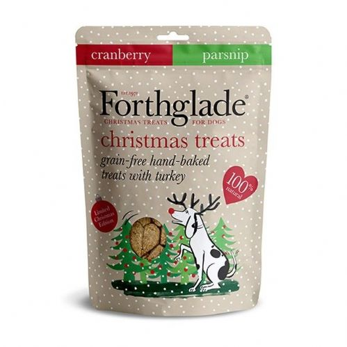 Forthglade - Christmas - Grain Free - Turkey & Cranberry Treats - 150g
